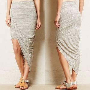 {Anthropologie} Dolan Oblique Wrap Skirt
